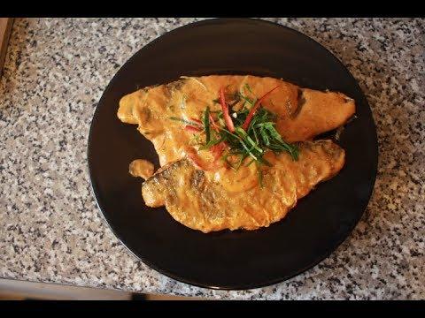 SeaBass In Thai Red Curry Recipe (Choo Chee)
