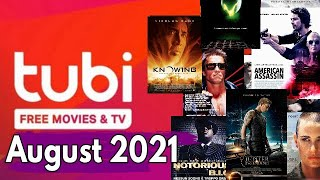 What's Coming to Tubi August 2021