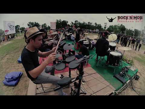 Free Download Rumah Kita (indonesian Voice) - Sukamara Rock'n Mob 2018   Drum Session Mp3 dan Mp4