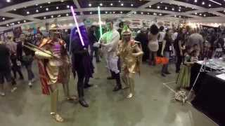 Comikaze Expo 2015 through a GoPro
