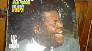 Chicago, That Toddling Town-Oscar Peterson-songwriter Fred Fisher