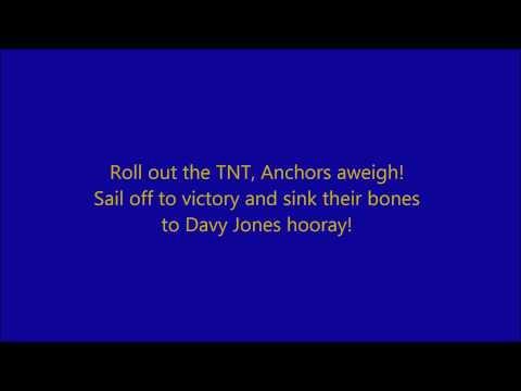 Anchors Aweigh  Lyrics