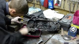 Как отмыть мотор за 3 минуты