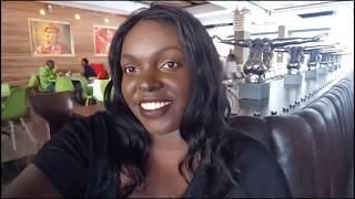 CHARLIE'S BISTRO RESTAURANT NAIROBI  KENYA, WE TRIED LEBANESE FOOD MENU & MASSIVE FREAKSHAKE