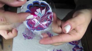 """How to create """"no mess"""" watermarble nails"""
