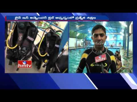 Scuba Diving Training Center in Hyderabad | Live in Adventures Club | HMTV