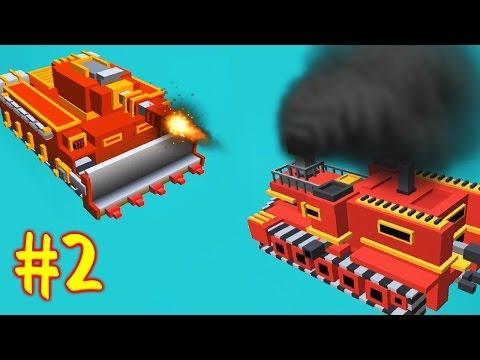 БИТВА ТАНКОВ [2] Игровой мультик про танчики Война танков Игра на Андройд War Boxes Strike - 2 серия