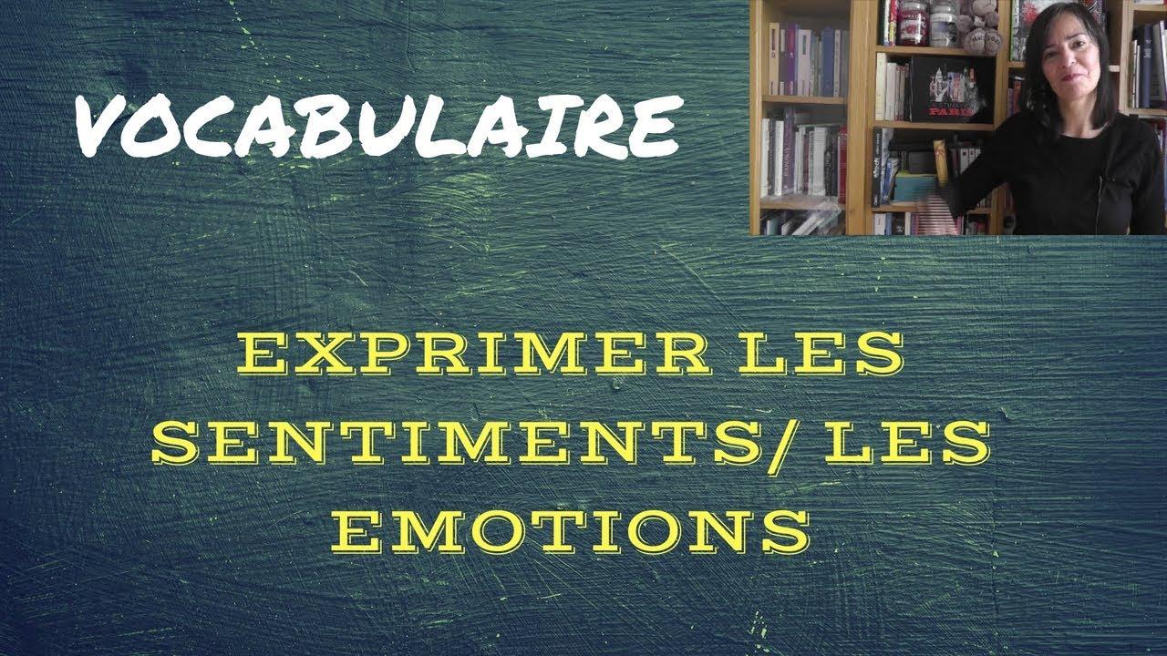 Download Comment exprimer les sentiments et les émotions ?