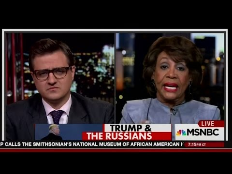 Rep. Maxine Waters tears into the Team Trump