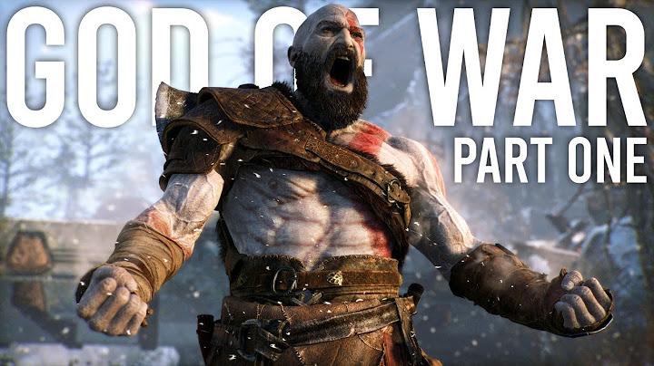 god of war walkthrough  part 1