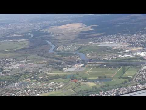 Flying from Menoza to Buenos Aires on a wine tour, in 2 minutes