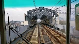 【展望動画】新京成 〜上り線高架工事完了〜 (鎌ヶ谷大仏〜くぬぎ山)