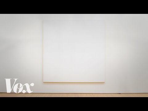 Why these all-white paintings are in museums and mine aren