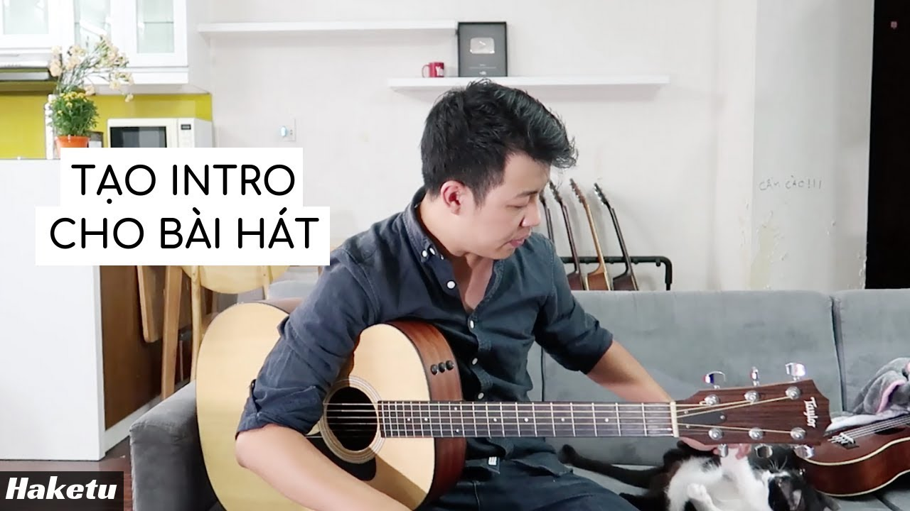Cách tạo intro guitar cho bài hát rất đơn giản! ?