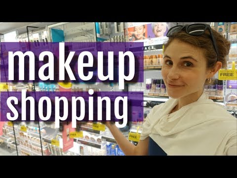 SHOP WITH ME FOR DRUGSTORE MAKEUP| DR DRAY thumbnail