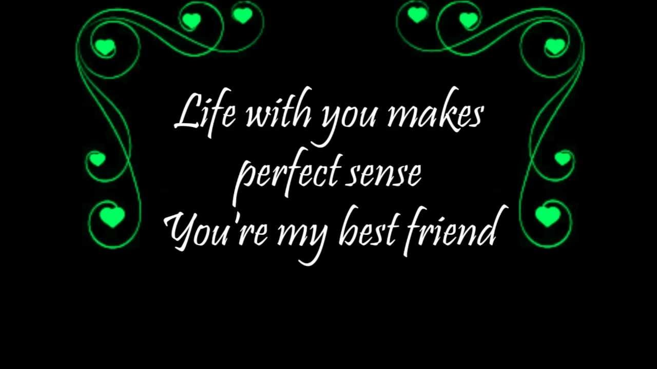 Tim Mcgraw My Best Friend Lyrics Youtube