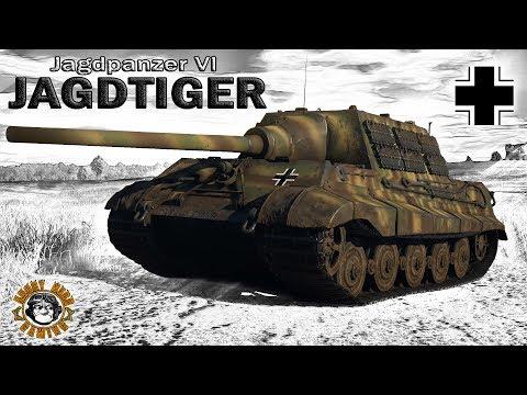 War Thunder: Jagdpanzer VI Jagdtiger, German, Tier-5, Tank Destroyer