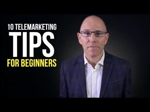 10 Telemarketing Tips For Beginners