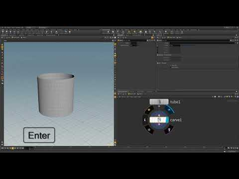 Introduction to Houdini 16: Creating A Digital Asset Barrel (Part 1)