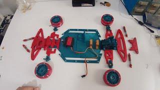 3d Printed Rc Rwd Drift Car Assembly Video