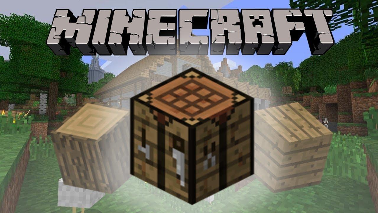 Minecraft çalışma Masası Nasıl Yapılır How To Make Crafting Table Youtube