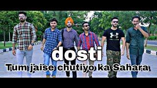 Tum Jaise Chutiyo Ka Sahara hai Dosto || Official Song || What's app status by nikhil ||