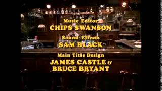 Cheers Season 2 Closing Credits