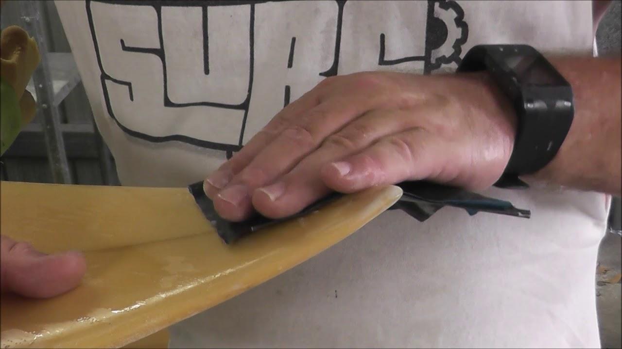 Surfboard Ding Repairs - The Nose Repair