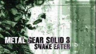 Repeat youtube video Metal Gear Solid 3 Snake Eater Soundtrack: Snake Eater
