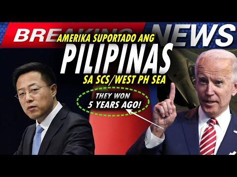 CHINA CRY AGAIN! CHINA GALIT SA AMERIKA DAHIL SUPORTADO ANG PILIPINAS SA SOUTH CHINA SEA-WEST PH SEA