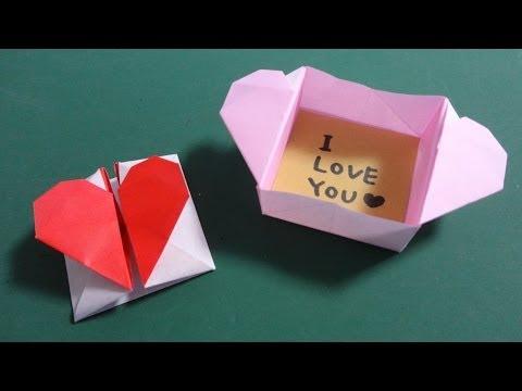 簡単 折り紙:折り紙 バレンタイン-iina117.xyz