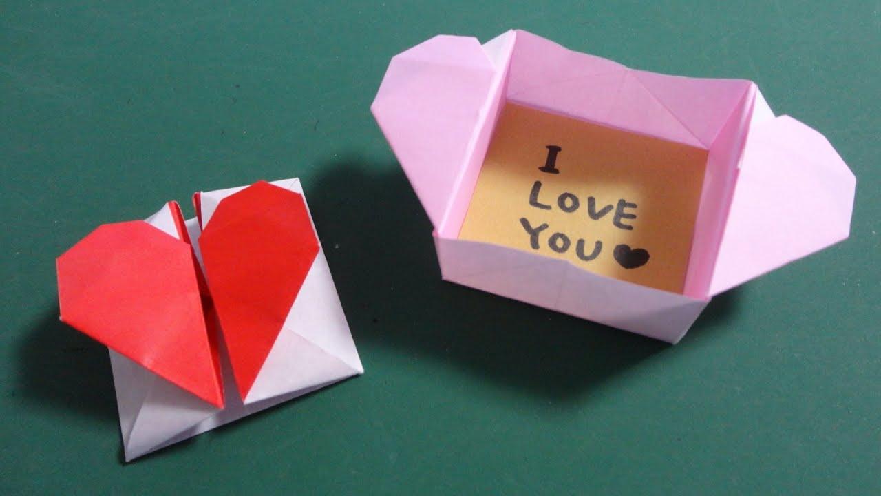 折り紙の いろいろな折り紙の作り方 : バレンタイン折り紙「ハートの ...