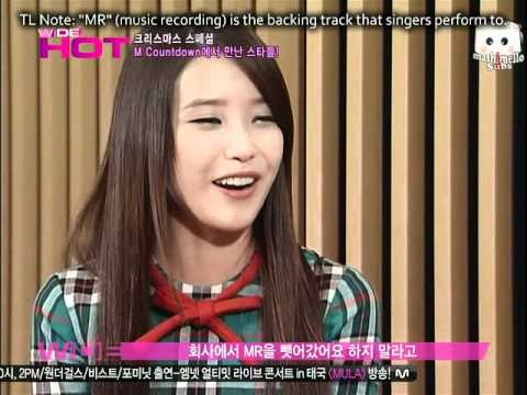 101224 IU (아이유) WIDE interview - IU's gift for uncle fans (eng sub)