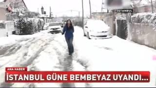Ferda Yıldırım ile Beyaz Tv Ana Haber Bülteni - İstanbul'u etkisi altına alan kar yağışı
