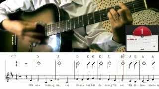 Học đệm đàn guitar cách đơn giản nhất - bài 3