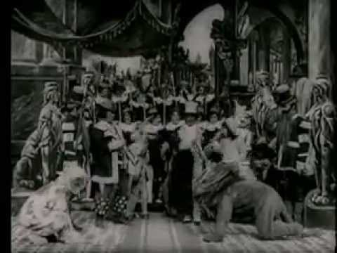 Wizard of Oz by Frank Baum a 1910 Silent Film Selig Studios