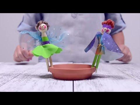 We Made It by Jennifer Garner - Doll Pin Garden Markers