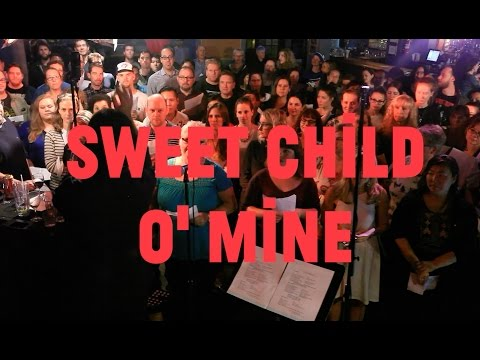 Choir! covers Sweet Child O' Mine!
