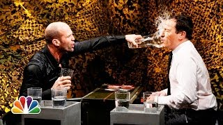 Jimmy and Jason square off in thee traditional card game War, but the loser of each round is doused with water. Subscribe NOW to The Tonight Show Starring ...