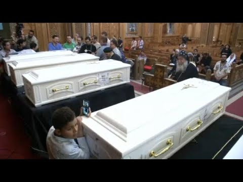 Les coptes d'Egypte à nouveau en deuil