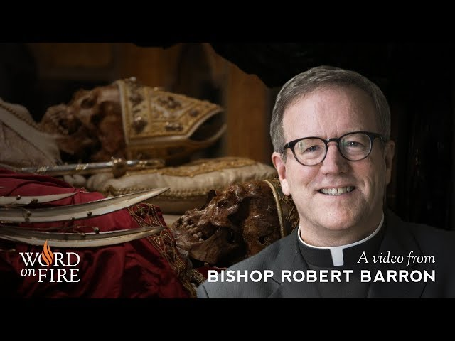 Bishop Barron on Catholic Relics