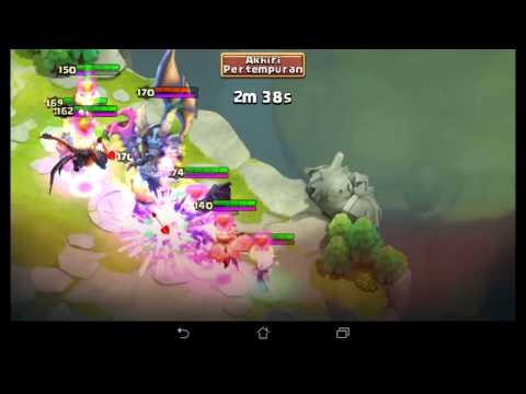 #55 Castle Clash:tips Fast N Easy Win Demon LR Skill