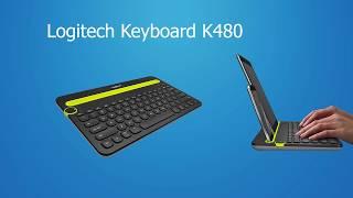 Logitech Keyboard K480 - عرض لاهم مميزات وعيوب