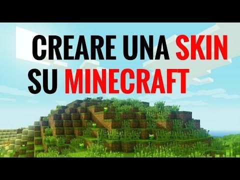 COME CREARE e CAMBIARE SKIN su MINECRAFT | tutorial