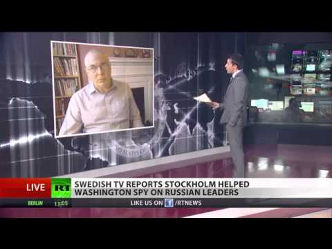 SPOOKS--Sweden spied on Russian leaders for US-NSA leaks