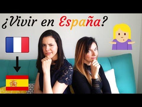 Qué piensa una FRANCESA sobre vivir en ESPAÑA
