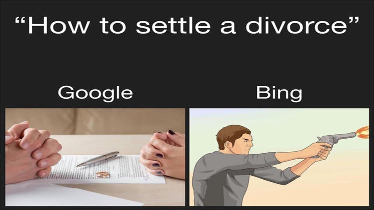 Google Vs Bing Meme Compilation Youtube