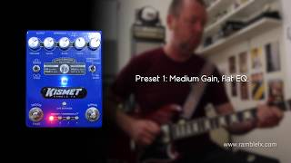 Ramble FX: KISMET overdrive/distortion - in context