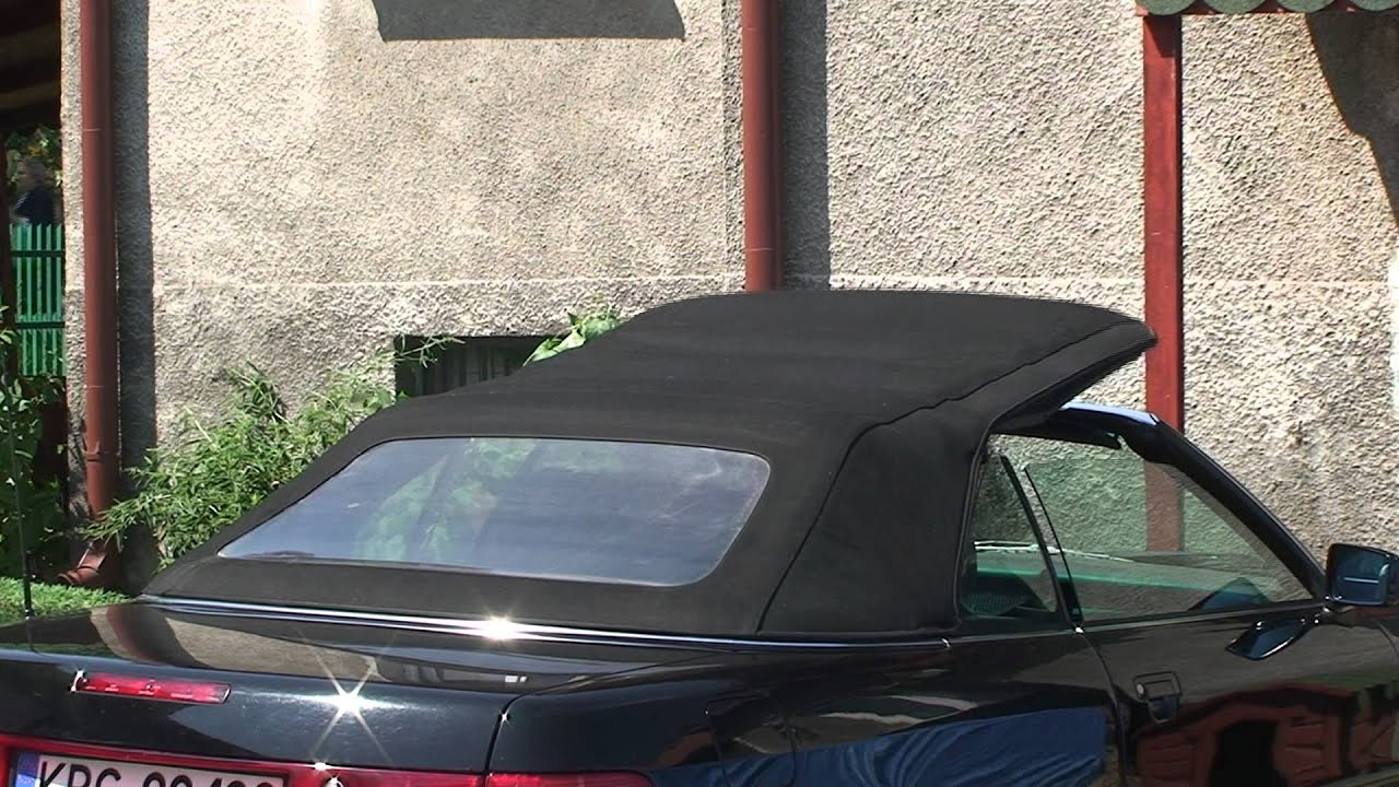 otwierany elektryczny dach audi cabrio 80 b4 youtube. Black Bedroom Furniture Sets. Home Design Ideas