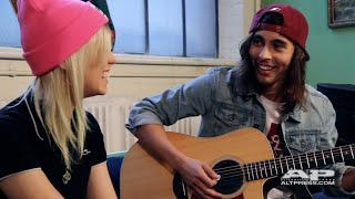 "Vic Fuentes and Jenna McDougall, ""Hold On Till May"" (acoustic)"